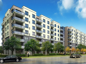 Killam Properties Inc. has begun construction of Saginaw Gardens, a 122-unit luxury apartment building in Cambridge, Ontario. (CNW Group/Killam Properties Inc.)